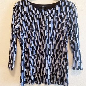 Alfani Long Sleeve Blouse Women's Size PL